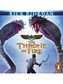 9780141972657 - Rick Riordan, Joseph May, Jane Collingwood: The Throne of Fire: The Kane Chronicles, Book 2 (Unabridged) - Livre
