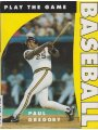 9780713724417 - Gregory, Paul R.: Baseball and Softball (Play the Game)
