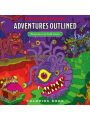 9780786966646 - Todd James: Dungeons & Dragons Adventures Outlined Coloring Book