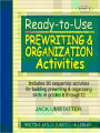 9780876284858 - Jack Umstatter: Ready-to-Use Prewriting and Organization Activities: Unit 4, Includes 90 Sequential Activities for Building Prewriting and Organiz