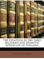 9781148124223 - Joseph Albert Mosher: The Exemplum in the Early Religious and Didactic Literature of England