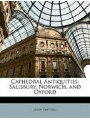 9781148124605 - John Britton: Cathedral Antiquities: Salisbury, Norwich, and Oxford - Book