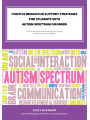 9781456630300 - Positive Behaviour Support Strategies for Students with Autism Spectrum Disorder: A Step by Step Guide to Assessing – Managing – Preventing Emotional and Behavioural Difficulties (ebook)