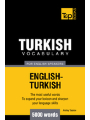 9781780710488 - Andrey, Taranov: Turkish vocabulary for English speakers - 5000 words - Livre