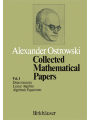 9783034893572 - A. Ostrowski: Collected Mathematical Papers als von