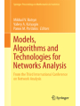 9783319343525 - Springer: Models, Algorithms and Technologies for Network Analysis - Book
