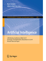9783319768915 - Editor: Bart Verheij, Editor: Marco Wiering: Artificial Intelligence: 29th Benelux Conference, BNAIC 2017, Groningen, The Netherlands, November 8–9, 2017, Revised Selected Papers (Communications in Computer and Information Science)