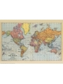 9786000529253 - Stanford`s General Map of the World (1920) - A1 Wall Map, Canvas - کتاب