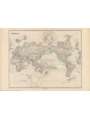 9786000529536 - Stanford`s Pacific-centred World Map (1884) - A2 Wall Map, Canvas