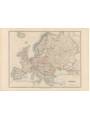 9786000529727 - Stanford`s Folio Europe Map, by J. Arrowsmith (1884) - A2 Wall Map, Paper - کتاب