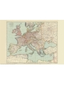 9786000530129 - Stanford`s Tourists` Map of Europe (1928) - A2 Wall Map, Paper