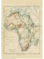 9786000530532 - Stanford`s Africa Map (1879) - A2 Wall Map, Canvas - کتاب
