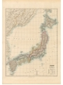 9786000532161 - Stanford`s Folio Japan Map (1884) - A1 Wall Map, Paper - کتاب
