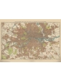 9786000534653 - Stanford`s New Two Inch Map of London (1913) - A1 Wall Map, Paper - کتاب