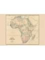 9786000534806 - Stanford`s Library Map of Africa (1890) - A2 Wall Map, Canvas - کتاب