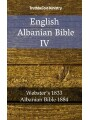 9788233905569 - TruthBeTold Ministry: English Albanian Bible IV - Webster´s 1833 - Albanian Bible 1884
