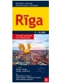 9789984074535 - Riga City Center Jana Seta Street Plan